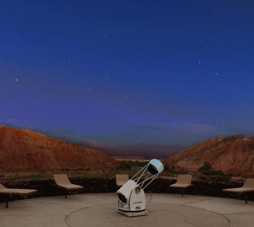 Alto Atacama desert lodge Star gazing