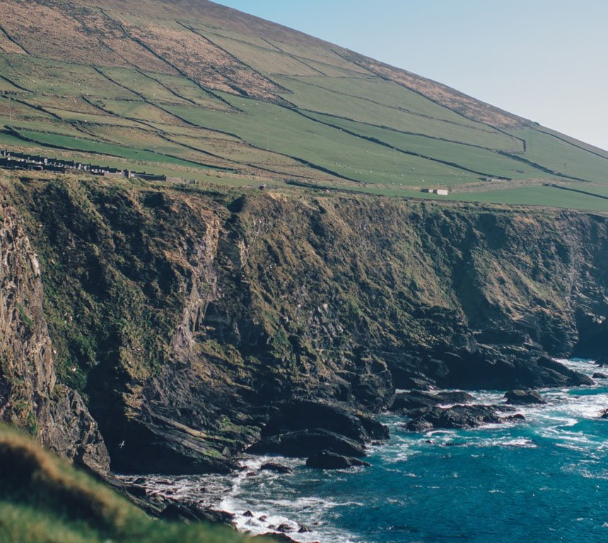 Cliffs Dingle Ireland