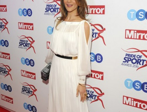 Amanda attends Pride of Sport Awards 2016